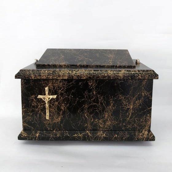 drewniane urny model D-12