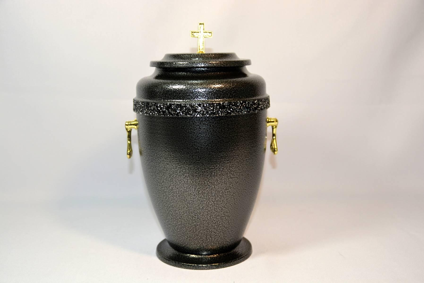 Czarna urna premium