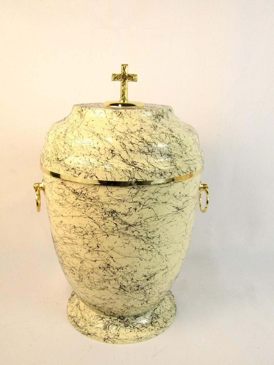 Kremowa urna