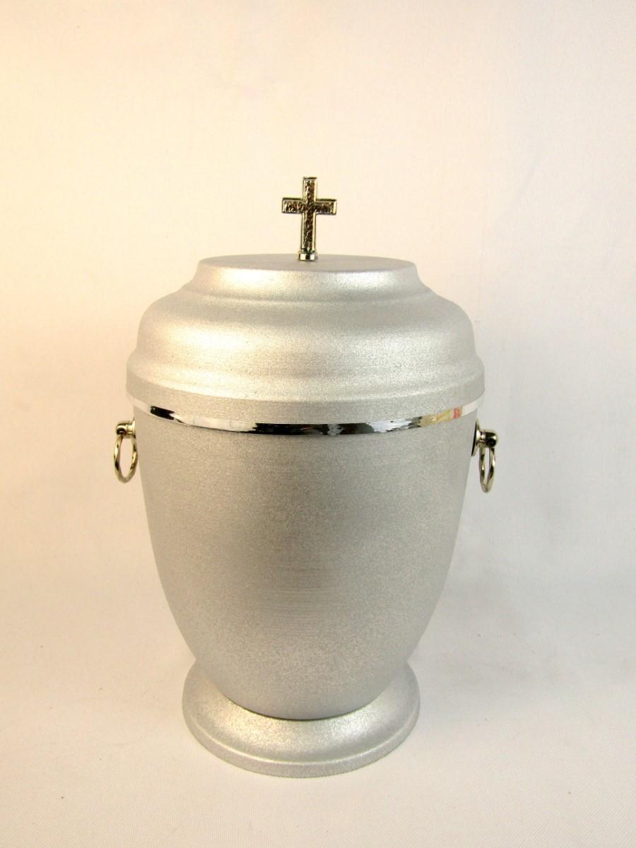 Srebrna urna metalowa