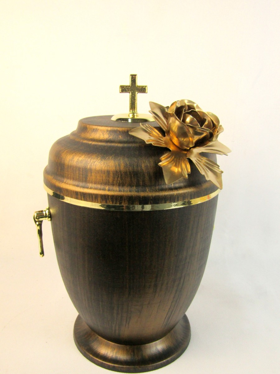 Urna premium złota